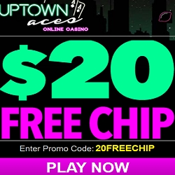 uptown aces casino $20 free
