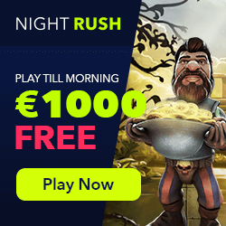 nightrush casino 1000free